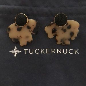 TUCKERNUCK TORTOISE CLARA EARRINGS